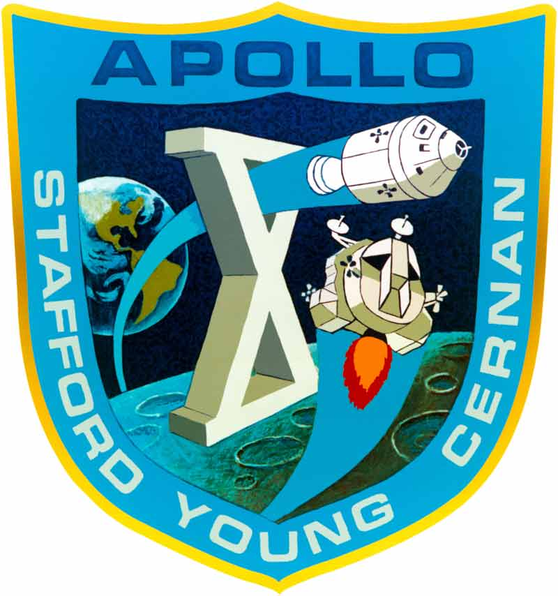 Apollo 10 official mission patch (Image credit NASA)