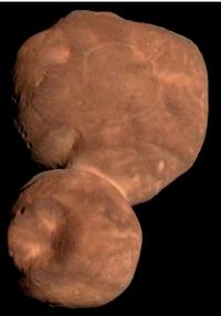 Fig 1. Color composite image of Arrokoth