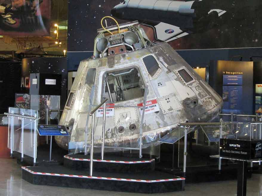 Gumdrop at the San Diego Air & Space Museum (Image Credit HrAtsuo)