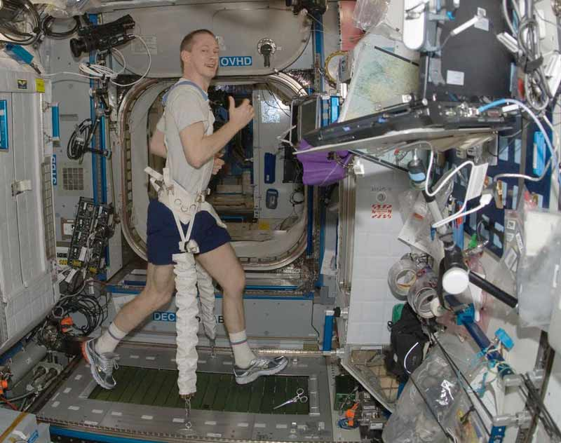 Microgravity research at ISS