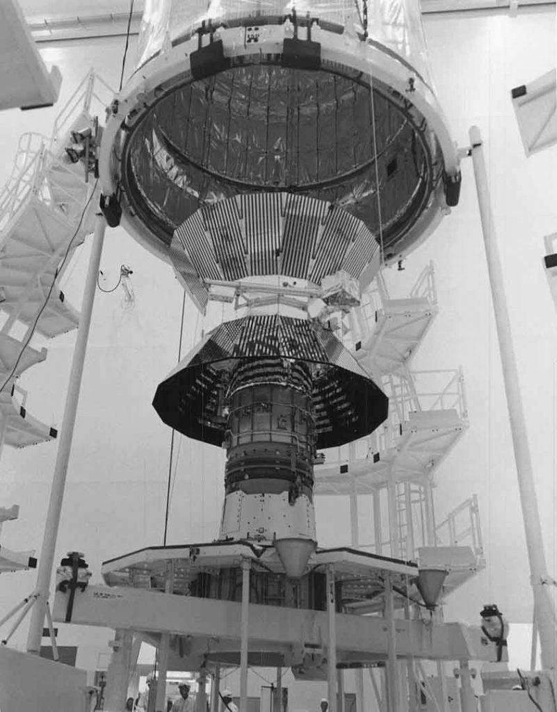 Prototype of the Helios spacecraft