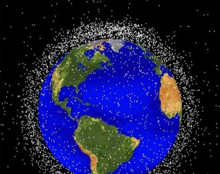 Space Debris, Dust and Matter