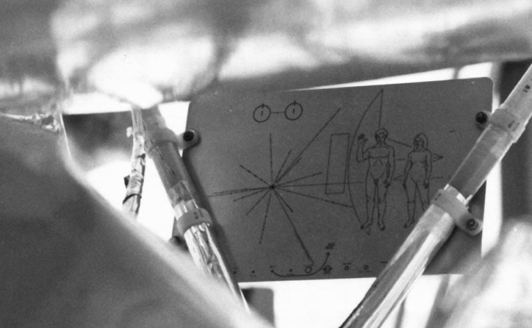 The Pioneer Plaque: Message from Earth