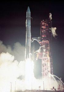 Launch of Mariner 10 on Atlas-Centaur rocket