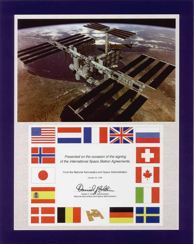 The ISS agreement