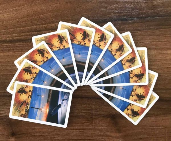Backside Rocket Deck Playing Cards