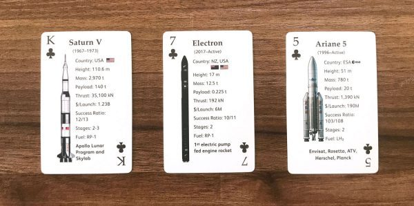 Clubs Rocket Deck Playing Card