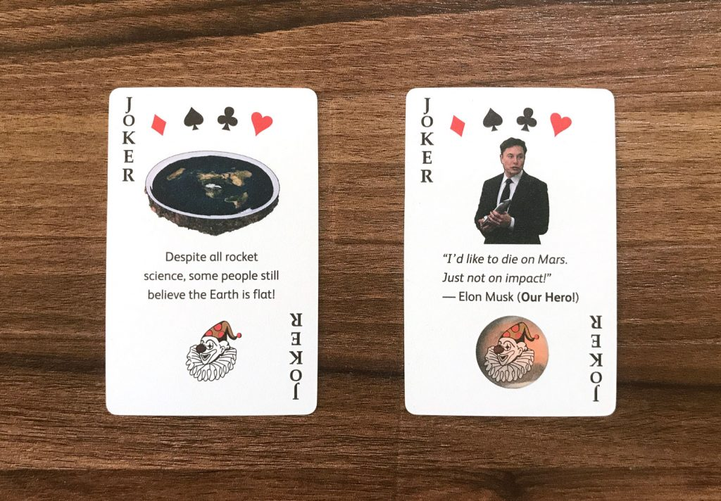 Jokers Rocket Deck Playing Cards