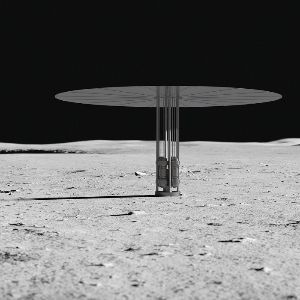 NASA is developing a nuclear reactor (shown in this artist's rendition) that could power a human settlement on the moon.