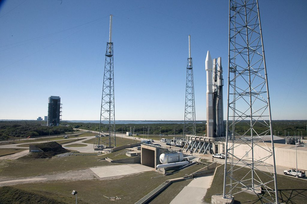 Atlas V 401 on launch pad