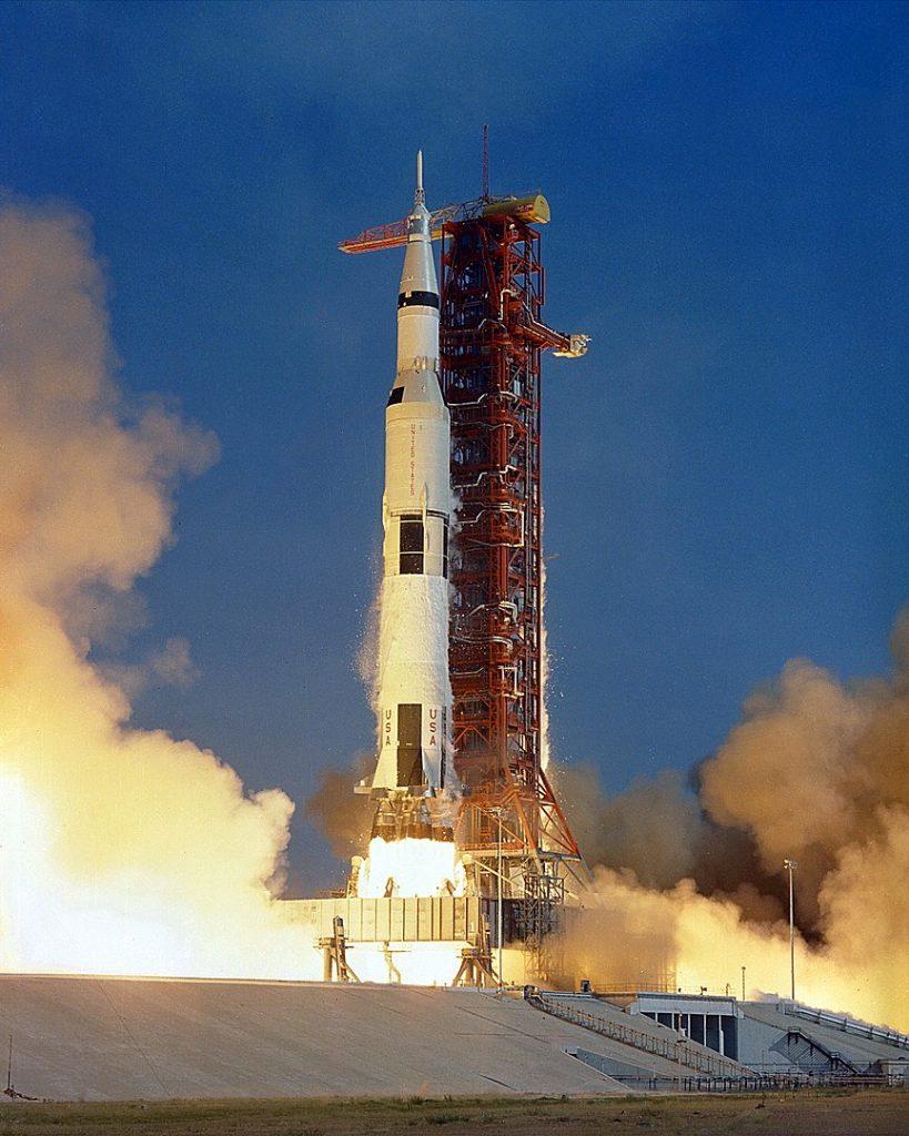 Apollo 11 launch at LC-39A (1969)