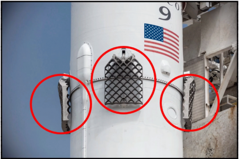 Grid Fins: The Wings for Re-entry!