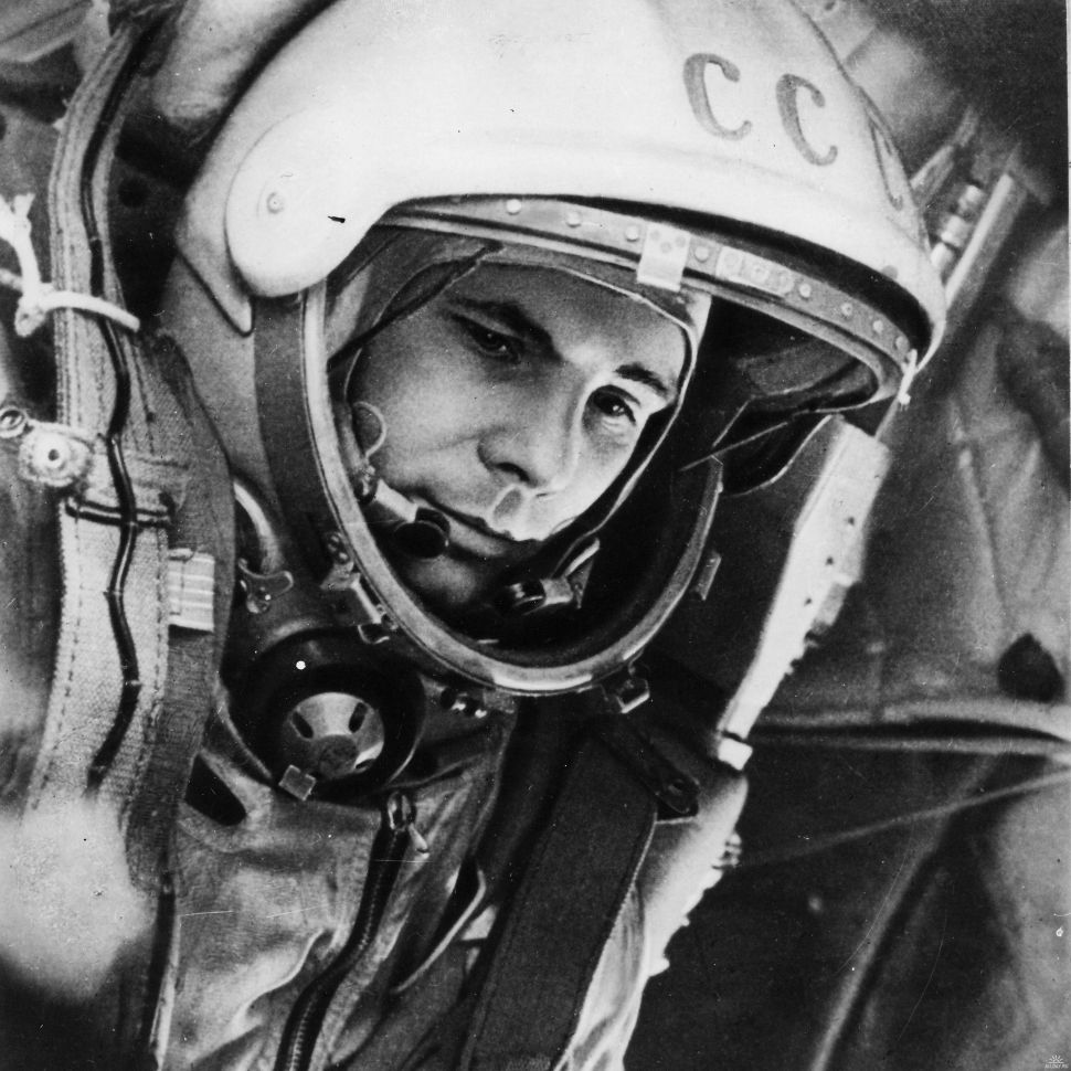 On 12 April 1961, Yuri Gagarin became the first human to travel into space, launched into orbit on the Vostok 3KA-3 spacecraft (Vostok 1). (Image credit: ESA/alldayru.com)