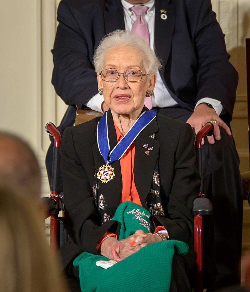 The Presidential Medal of Freedom was awarded to Johnson in 2015.