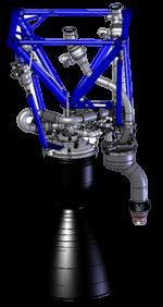 Merlin 1A engine