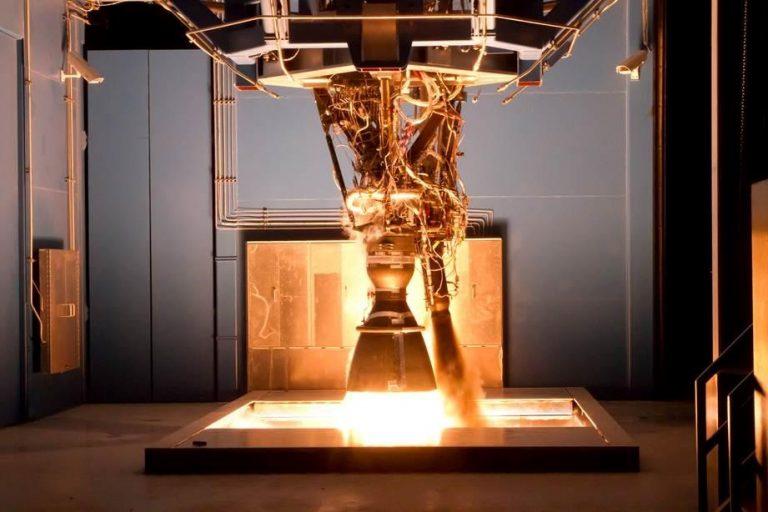 Merlin Engines powering Falcon 9