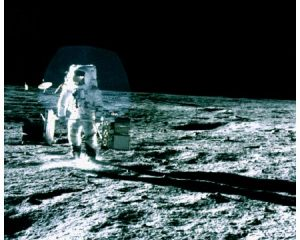 Images of first EVA of Apollo 12 Mission