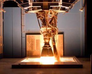 Figure 4. Single Merlin engine under test conditions
