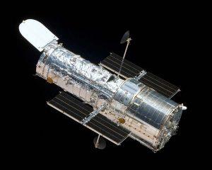 The Hubble Space Telescope in orbit